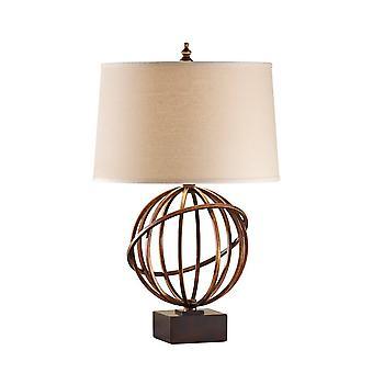 Elstead Spencer - 1 lys bordlampe Firenze Guld, E27