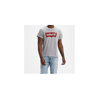 Levi&s® Levis Housemark Graphic Tee (midtone Heather Grey)