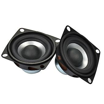 2pcs  4-ohm 12w Diy Stereo Hifi Audio Portable Loudspeaker