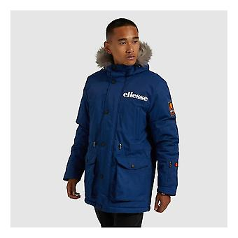 Ellesse Mazzo Parka Hooded Blue Jacket