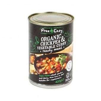 Free Natural - Chick Pea & Vegetable Curry 400g