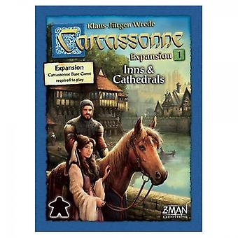 Carcassonne Inns & Cathedrals (2015) Expansion 1 Board Game