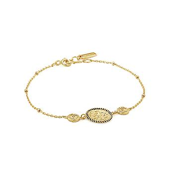 Ania Haie Gold Digger Shiny Gold Winged Goddess Bracelet B020-01G