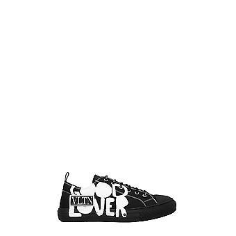 Valentino Garavani Uy0s0d57spu0ni Men's Black Fabric Sneakers