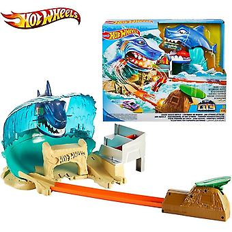 City Shark Beach Battle Play Set -track Subway Sports Car, Educational Toy