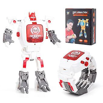 Cartoon Transformation Karóra Játék- Kreatív Elektronikus Robot Watch,