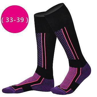 Uudet korkealaatuiset talvisukset sukat, miehet naiset ulkoilu urheilu vaellus / hiihto sukat