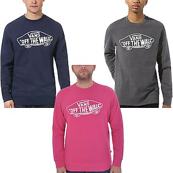 Vans Mens OTW Crew ll Cotton Casual Pullover Crew Neck Jumper Sweatshirt Top