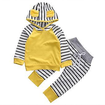 Newborn Baby Clothes Little Wizard Arrived Tops T-shirt+halloween, Pants+hat