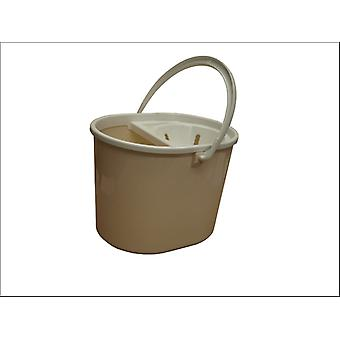 Lucy Oval Mop Bucket Granite L1405204