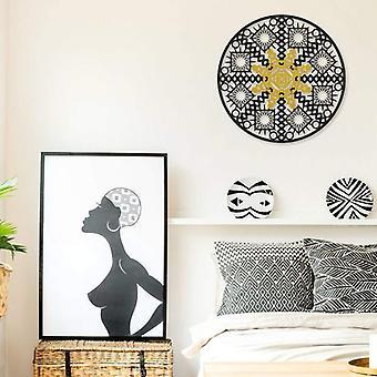Geometria Sacra Disegno di Muraglia In Metallo