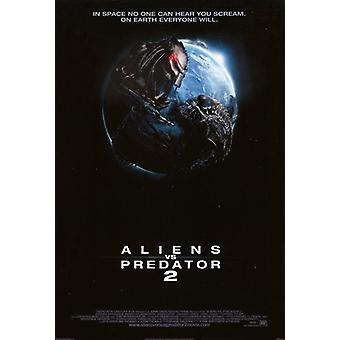 Aliens Vs Predator Requiem Movie Poster (11 x 17)