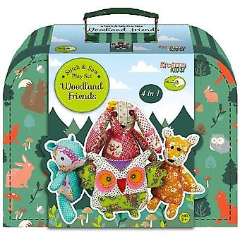 Kreative barn Woodland Friends Stitch & sy spela set