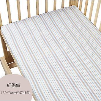 Newborn Baby Mattress Bed Cover Crib Sheet Baby Bedding Bedclothes Soft Cartoon