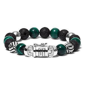 Buddha To Buddha 188MM G Spirit Bead Malachite Bracelet