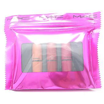 Mac Shiny Pretty Things Lip Trio Kit 3-St Lip Set / Nytt med Box