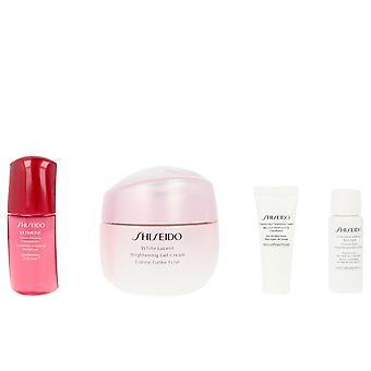 Shiseido weiß Lucency Aufhellung Gel Creme Set 4 Pz für Frauen