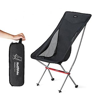 Mimigo Aluminum Alloy Folding Moon Chair Portable Super Light Folding Camping Beach Chair High Back For Outdoor Backpacking Hiking Travel Picnic Fishi