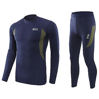 Seamless Tight Tactical Thermal Underwear Breathable Outdoor