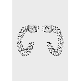 Kalevala Earrings Women's Circle of Light Silver 2669480T