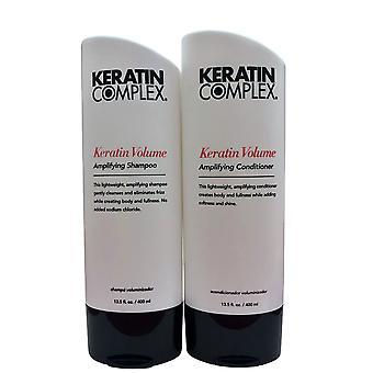 Keratin Complex Keratin Volume Amplifying Shampoo & Conditioner Set 13.5 OZ Ea
