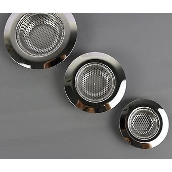 Stainless Steel Filter Sinks Strainer, Metal Hair Catcher