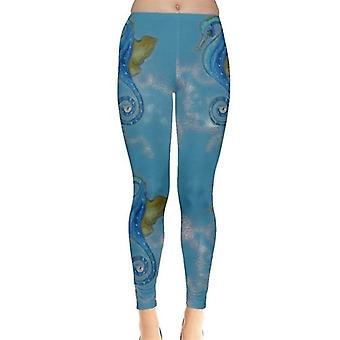 Leggings Seepferdchen
