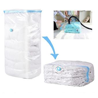 Vacuum Bag Comprimat Organizator pentru quilts Haine, Transparent Space Saving