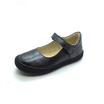 PRIMIGI Bumper Toe Mary Jane Shoe In Pewter