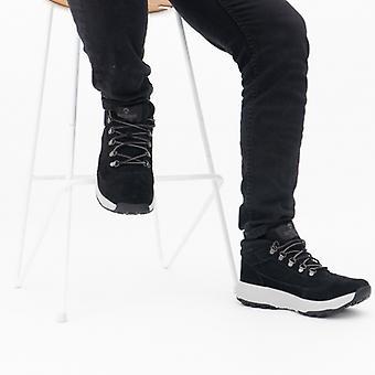 Skechers في الهواء الطلق الترا الرجال الكاحل أحذية الأسود / الرمادي