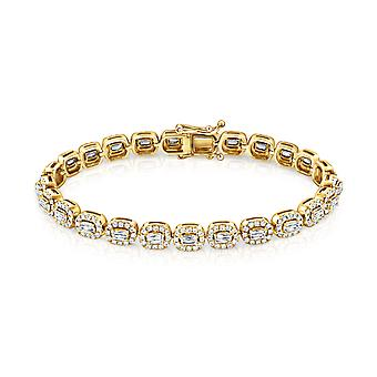 Bracelet Valentine, 18K Gold and Diamonds
