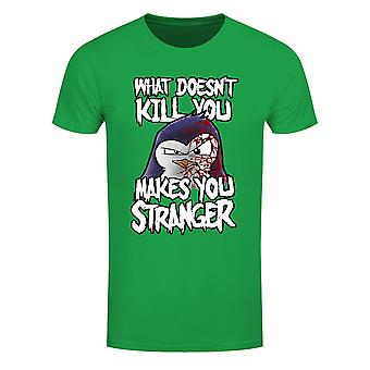 Psycho Penguin Hombres Lo que no te mata camiseta