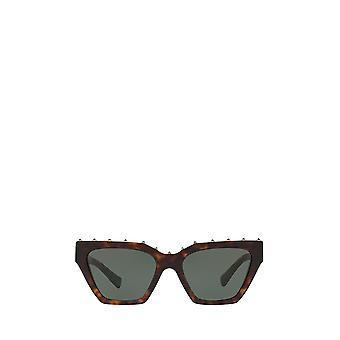 Valentino VA4046 havana óculos de sol femininos