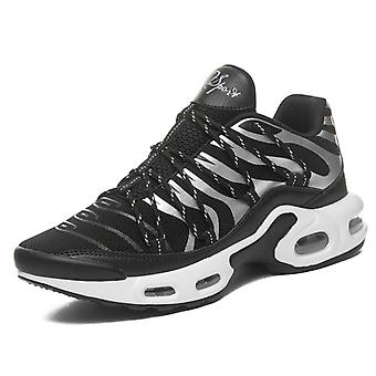 Hombres's Fashion Air Running Shoes 8910 BlackWhite