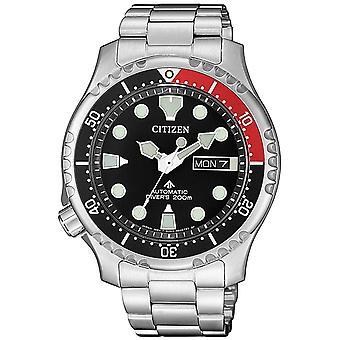 Mens Watch Citizen NY0085-86E, Automático, 42mm, 20ATM