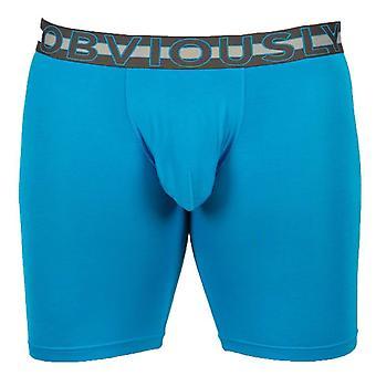Évidemment EveryMan AnatoMAX Boxer Brief 6inch Jambe - Bondi Blue