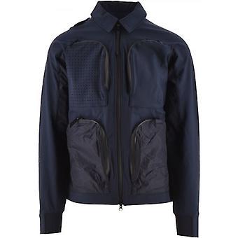 MA.STRUM Navy Softshell Jacket