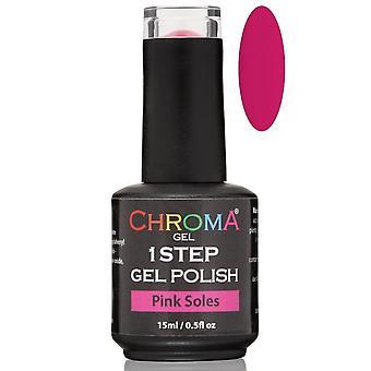 Chroma Gel One Step Gel Polish - Pink Soles