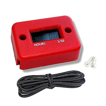 Motorcycle Hour Meter With Battery Timer, Cafe Racer Digital Counter, Moto Jet