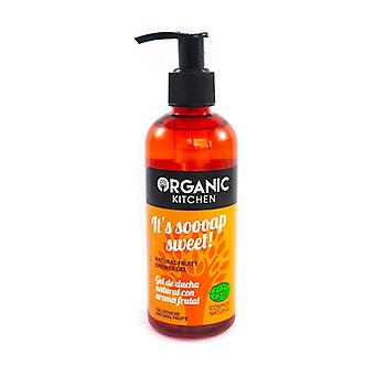 It's Soooap Sweet! Natural Fruity Shower Gel 270 ml of gel