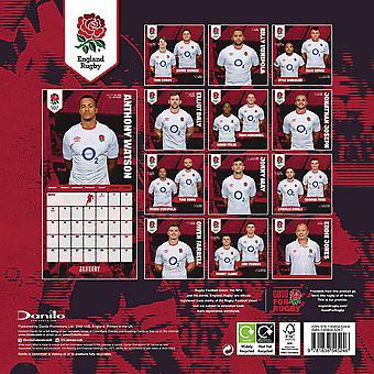 England RFU 2021 A3 Calendar