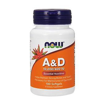 Vitamins A and D 100 softgels