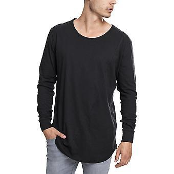 الكلاسيكية الحضرية - شكل الموضة Longsleeve الأسود