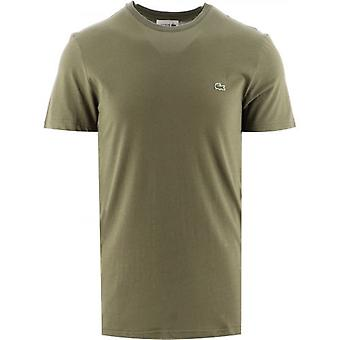Lacoste Green Short Sleeve Crew Neck T-Shirt
