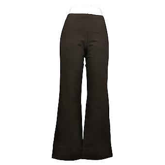 Women With Control Women's Pants Leah Pull On Boot Cut Brown A366024