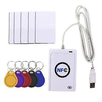 Nfc Reader Usb Contactless Smart Ic Card And Writer/copier Duplicator