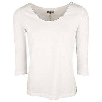 Crea Concept White Long Sleeve Cotton Base Layer T-shirt
