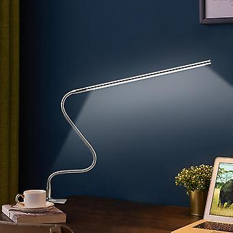 Длинная рука USB перезаряжаемые тусклый свет ac100-240v винт фиксированной регулируемой привело защиты глаз исследование офиса чтения стол свет