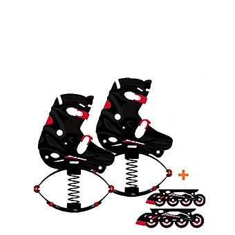 2-in-1 Jumping Roller & Bounce Inline, Skates Jump Shoes