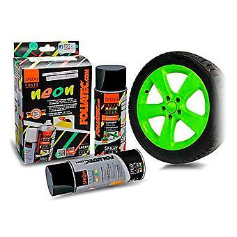 Flytande gummi för bilar Foliatec Green 400 ml (2 st)